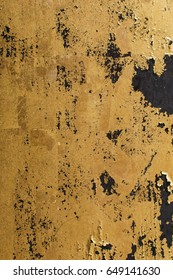 shiny Gold leaf, gold foil texture grunge background