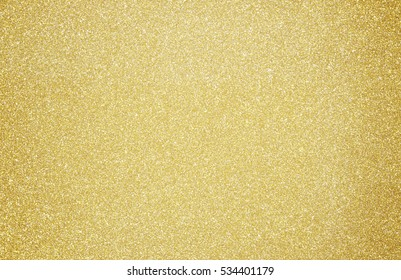 Shiny hot yellow gold foil golden color glitter decorative texture paper