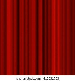 Shiny red metallic stripes texture, industrial seamless pattern
