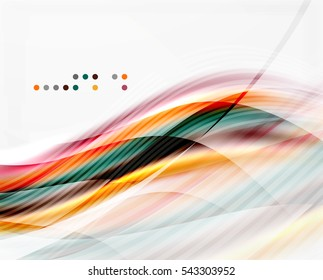 shiny wave line abstract background