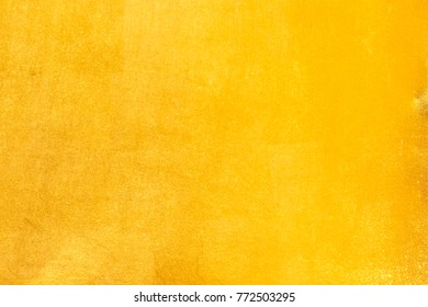 Shiny yellow leaf gold foil texture background - Shutterstock ID 772503295