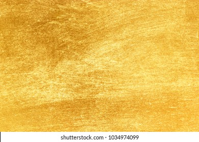 Shiny yellow leaf gold texture background