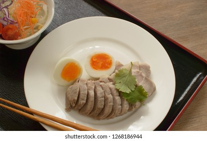 Shiobuta (salted pork) is a Japanese dish made with pork marinated with generous amount of salt.