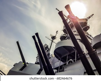 Ship Artillery - Navy armoured vessel