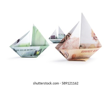 ship from banknotes