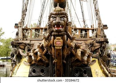ship fiddlehead
