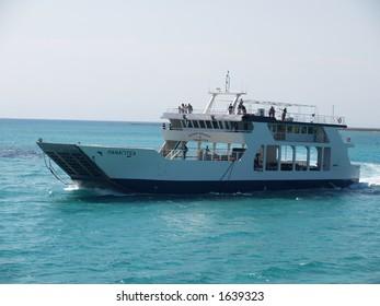 Ship in Greece