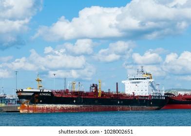 SHIP IN THE HARBOR GOTHENBURG 2015
