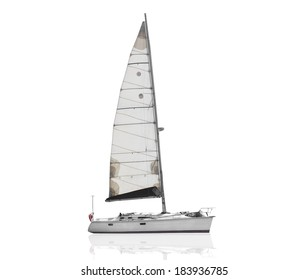 ship isolate over white background