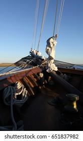Ship Mast from an old sail ship.