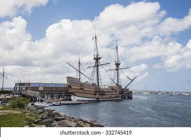 Ship Mayflower II, Plymouth, Massachusetts