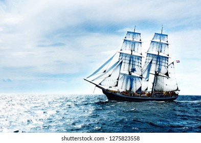 The Ship On The Sea