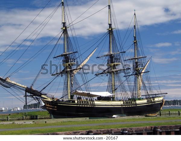 Ship in Salem