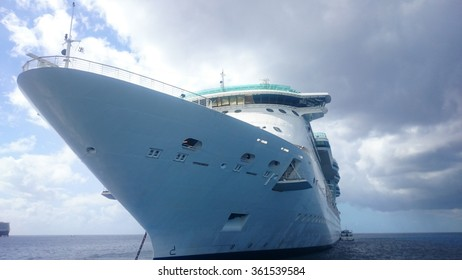 Ship tendered at Grand Cayman