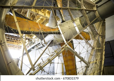 Ship Tour USS Kearsarge (LHD 3) Wasp-class amphibious assault ship: Fan blades of the LCAC, air cushion landing craft, used to transport equipment and personnel. Fleet Week NEW YORK MAY 25 2017.