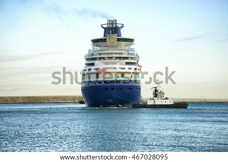 Ship Tugboat Stock Photo (Edit Now) 467028095 - Shutterstock