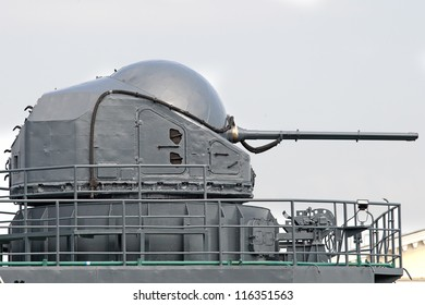 Ship turret of the last century
