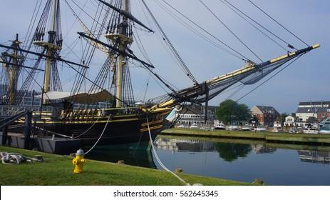 Ship wood, Salem, Massachusetts, USA