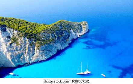 Ship wreck bay - Zakynthos, Greece
