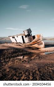Ship Wreckage in Point Reyes California