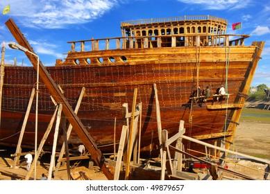 Shipbuilding in Gujarat, India