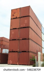 Shipping container store and business logistic