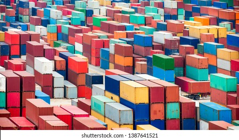 Shipping containers for export and import business