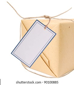 A shipping package gift