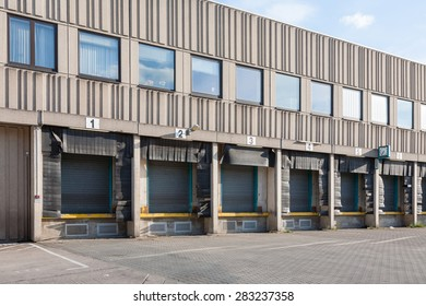 Shipping warehouses and loading docks, Berlin, Germany