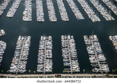 Ships and boat parked in a harbor
