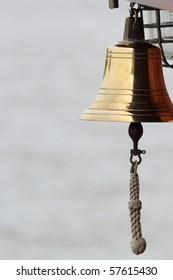 a ships brass bell