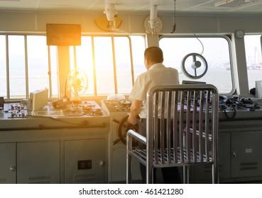 Ship's cockpit