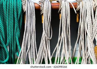Ship's rope background texture