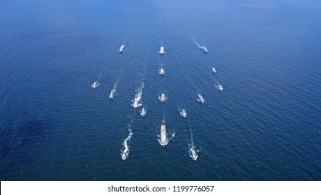 Ships Sailing Royal Navy
