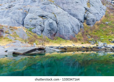 Ships wreck in Norway