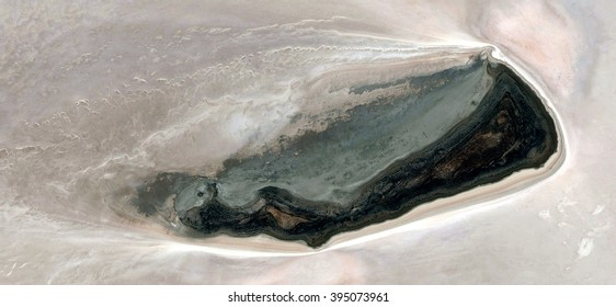 The shipwreck, abstract photography of the deserts of Australia from the air, bird's eye view, abstract expressionism, contemporary art, optical illusions,