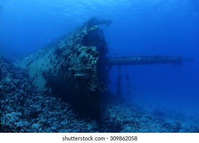 The shipwreck of the Ghiannis D in the Red Sea, Egypt.