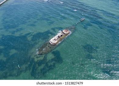 The Shipwreck of HMVS Cerberus in Melbourne