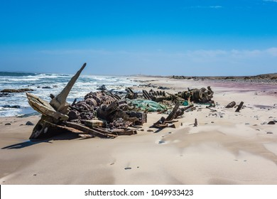 Shipwreck on the Skeleton Coast ,Namibia