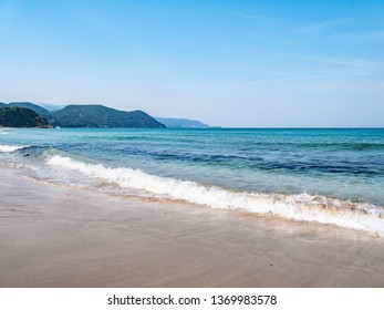 Shirahama Beach is an 800 meter long beach that is one of Izu's most famous and popular attractions. Shirahama Beach is located at Izu Peninsula in Shimoda City, Shizuoka Prefecture, Japan.