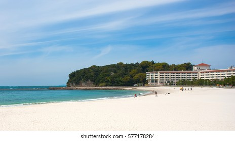 Shirahama Beach in Wakayama, Japan