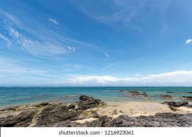 Shiraho beach, Ishigaki island