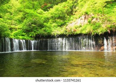 Shiraito fall karuizawa nagano prefecture japan