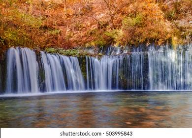 Shiraito Falls ,Karuizawa,Japan.