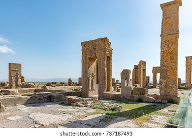 Shiraz - Iran. April 24, 2017. Welcome to Persepolis.One of the great wonders of the ancient world, Persepolis embodies not just a grand architectural scheme but also a grand idea.