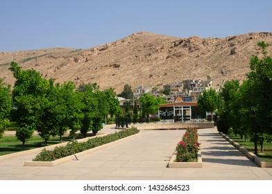 Shiraz / Iran - June 21, 2011: A view from the city of Shiraz in Iran
