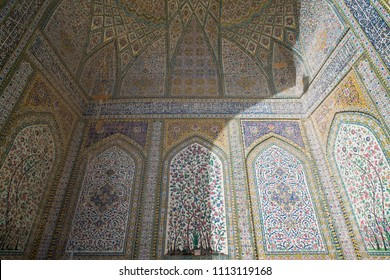 Shiraz, Iran, may 8, 2018: Vakil Mosque, a mosque in Shiraz, southern Iran. This mosque was built between 1751 and 1773, during the Zand period