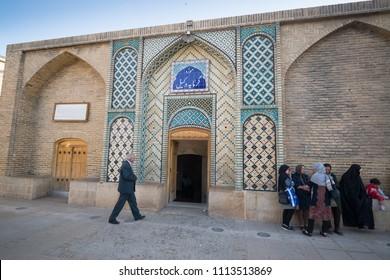 Shiraz, Iran, May 8, 201á: Famous Vakil public baths in Shiraz, Iran