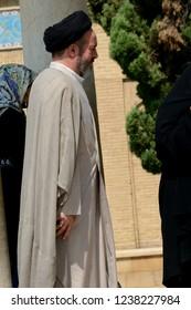 SHIRAZ, IRAN - SEPTEMBER 6: Mullah at 6 September, 2018 at Shiraz, Iran. Mullah is an educated religious man in Islam.