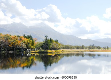 ?Shiretoko-Goko (Shiretoko Five Lakes) in Autumn, Hokkaido, Japan